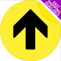 Self Adhesive Floor Marker Yellow Arrow