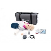Laerdal Resusci Anne QCPR AED Airway Head Torso with Carry Bag