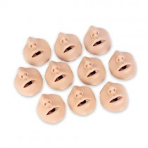 CPR Manikin Adult Torso Adam/Brad Channel Mouth/Nose pieces (10 pack)