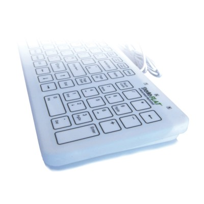 Antibacterial Flat Wired Keyboard